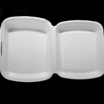 Foam Meal Container Single Compartment