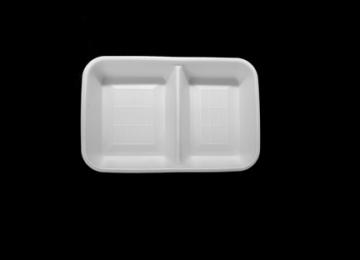 Foam Tray 2000 cc 2 Compartment